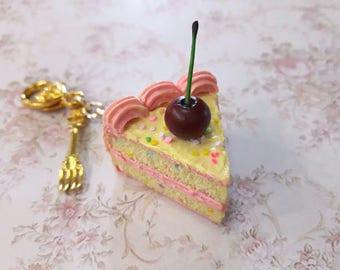 Funfetti Cake Keychain.