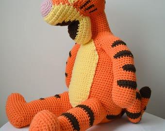 Stuffed Tigger Toy