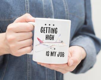 Pilot Mug, Pilot Gift, Airplane Mug, Co-Pilot Gift, Gift For Pilots,Aviation, Pilot Coffee Mug, Aviation Gift, Funny Pilot Mug, Flying Gift