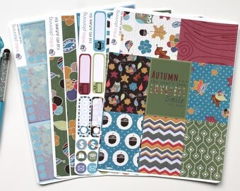 Fall Into Autumn - Big Happy Planner Weekly Kit