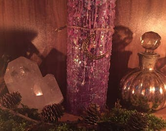 Candle Candle Magic Candle Magic Moongoddess Dragon Magic Magical wiccan Pagan Gothic sparkle