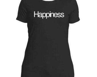 Happiness - Next Level Tee