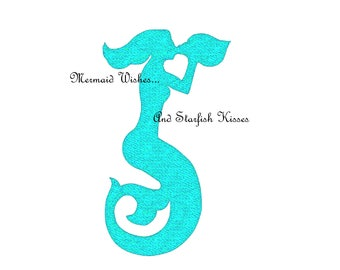 MERMAID wishes and Starfish Kisses - wall art, INSTANT DOWNLOAD - Jpg Png Printable Art
