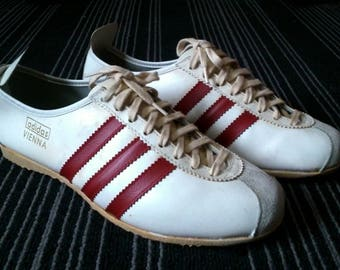 Super Rare 60s 70s Vintage Adidas Vienna shoes made in western germany