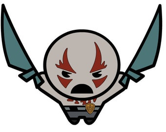 Drax the Destroyer guardian SVG Download lot