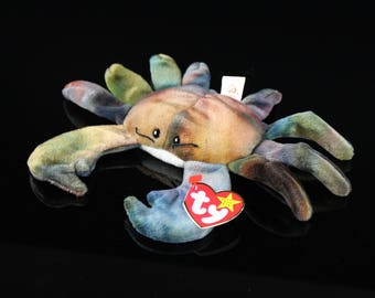 Claude The Crab - TY Beanie Baby DOB. September 3, 1996