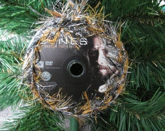 Bones Christmas Ornament Upcycled TV Show DVD #3