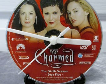 Charmed DVD Clock Upcycled TV Show #3