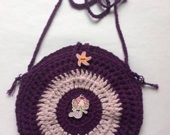 Mermaid Crochet Bag