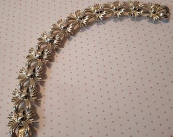 1940's Coro gold tone bracelet