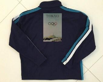 Tokyo Olympics track jacket karate JAPAN track suit vintage 1990 - men size S