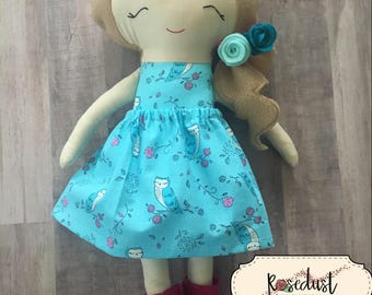 Hannah Dress Up Doll - Style 2 (without the pink tutu skirt)