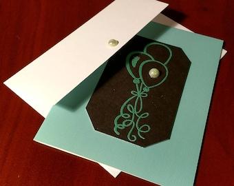 "Handmade ""Blank"" Card"