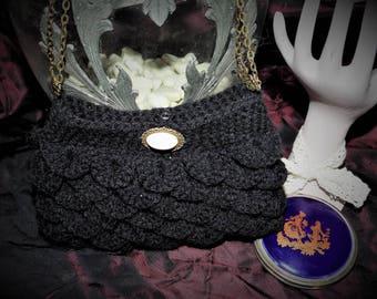 victorian black bag