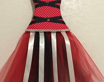 Minnie Mouse Inspired Bow/Headband Holder