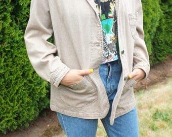 Vintage Lee Denim Longline Jacket Coat