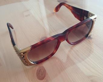 Vintage EK 1601 Sunglasses ( Emmanuelle Khanh, handmade)