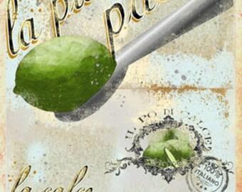 Lime- La piccola paletta