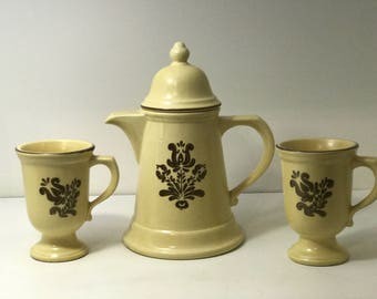 Pfaltzgraff Teapot Set