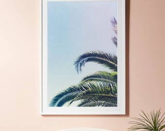 Palm Tree Wall Decor palm tree wall art | etsy