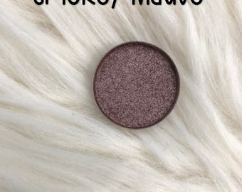 Smokey Mauve, 26 mm single pan eyeshadow, metallic rose gold