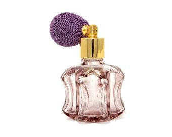 Lilac Glass Atomizer