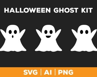 Ghost SVG - halloween svg png ai, ghost svg, vector ghost, Thanksgiving svg, fall svg, ghost graphic, ghost face svg, ghost clip art