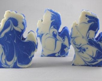 Michigan Shaped Michigan Made Soap - Manistee - Crsip Cotton - Quality, Luxurious, Vegan Oils