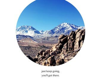 Keep going inspiration art 02