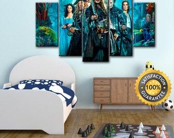 Pirates of the Caribbean, Jack Sparrow, Captain Jack Sparrow, Pirates canvas, Jack Sparrow art, Jack Sparrow canvas, Jack Sparrow print