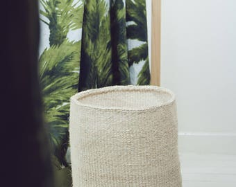 FUNNY, basket natural sisal