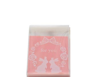 10 sachets bags pouches thank you for Christmas gift under 15 days 10x10cm pricing
