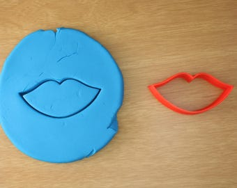 Lips Cookie Cutter - Kiss Cookie Cutter