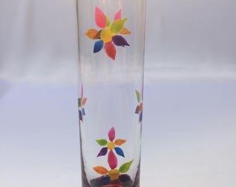"Soliflore Vase ""Rainbow flowers"""