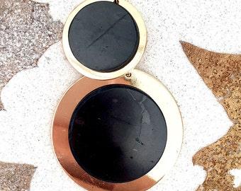 Shungit pendant,Shungite protection,EMF protection, Healing crystals,Healing stone,Chakra stone,Shungite jewelry,boho,reiki,reiki boho