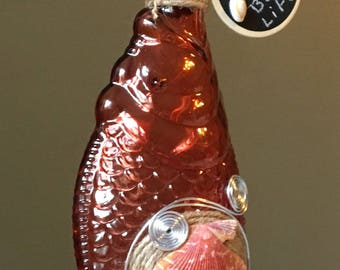 Red Fish bottle