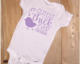 Cutest Chick Ever Onesie