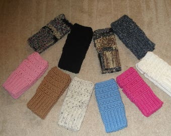 Fingerless Gloves Crocheted