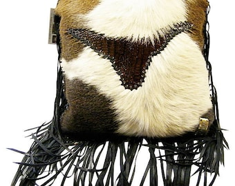 Hair on Hide Steer Pillow Exclusively by Partners Western Company