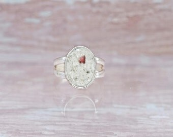 Sterling Silver Lido Beach Sand Ring