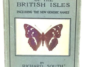 The Butterflies Of The British Isles Richard South Frederick Warne 1943