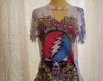Women's/Junior's Grateful Dead Altered T-Shirt