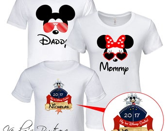 Disney Family Crusie 2018 T-Shirts, Family Set, Mickey Family Set, Disney Vacation, Disney Family Cruise, Disney Cruise, Custom name