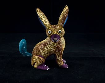 Hare-Alebrije-Mexican crafts (free shipping in Italy)