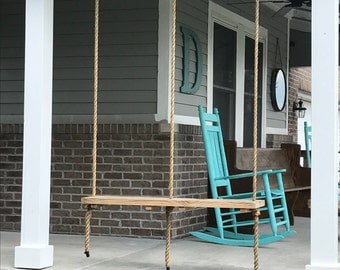Wood Porch Swing for 2