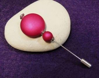 hot pink stick Hat pin