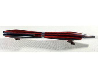 Handmade wooden pen.