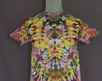 Handmade Ice Dyed T-Shirt: Small