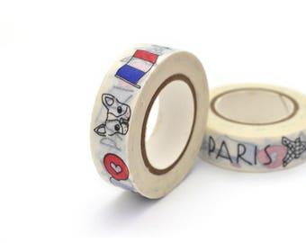 10 meters of masking tape 15mm Paris France
