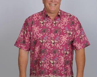 ARRIBATIK Casual Artisan Shirt - Wildflower